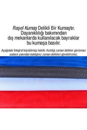 Asilmeydan Göğe Bakan Gazi Mustafa Kemal Atatürk - Ay Yıldız Türk Bayrağı Poster - Bayrak 100x150 Cm 2