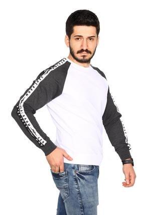 Bessa Sport Siyah Sweatshirt 2 Iplik Reglan Kol Modeli 2