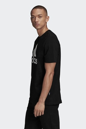 adidas Erkek Siyah Günlük Giyim T-shirt Mh Bos Tee Gc7346 1