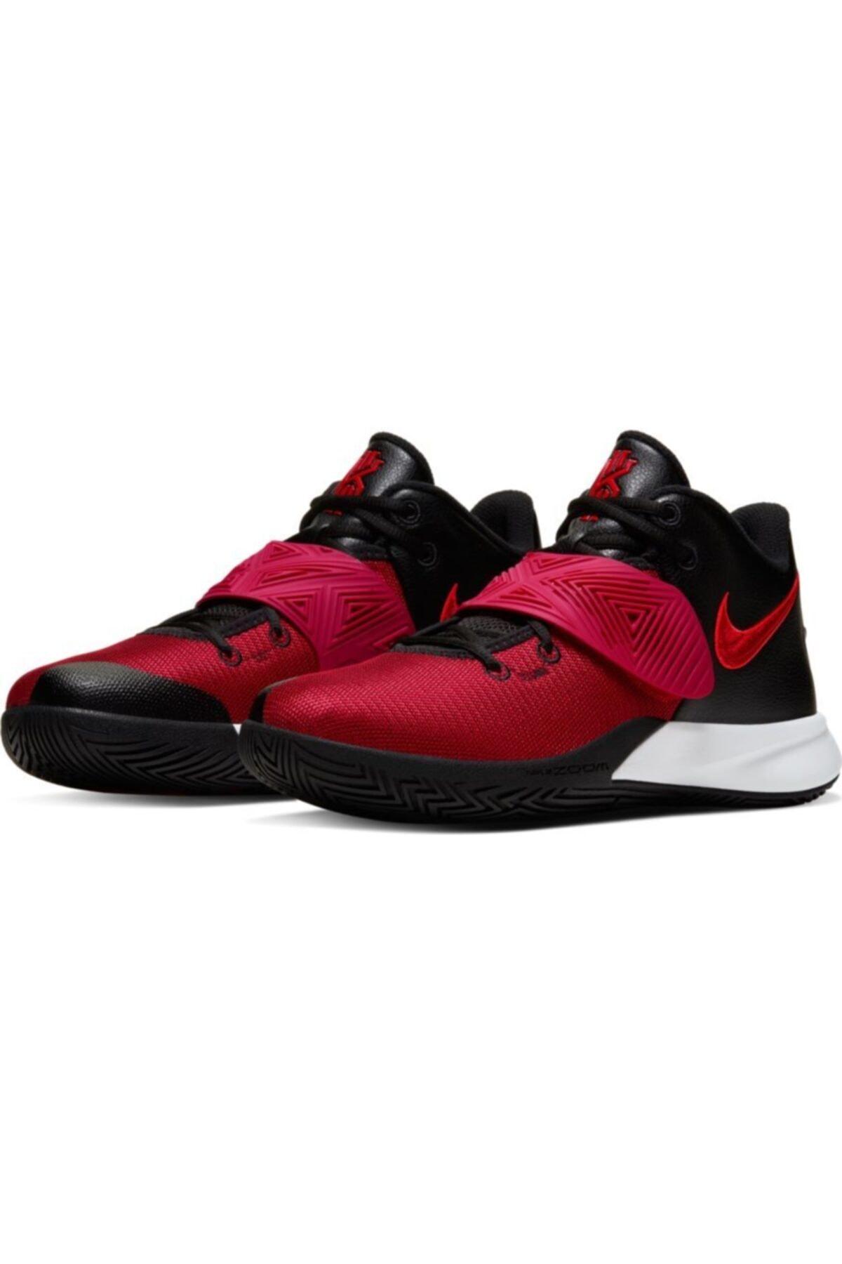Nike Erkek Kırmızı Kyrie Flytrap III Basketbol Ayakkabısı Bq3060-009