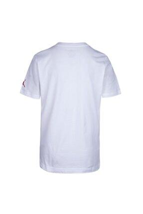 Nike Erkek Çocuk Beyaz Jordan Jordan Stack Tişört 95a069-001 1