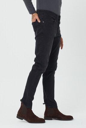 BOSHETTI Erkek Koyu Füme Slim Fit Essentials Jean 1