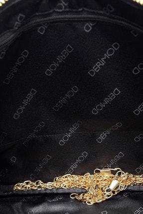 Derimod Kadın Siyah Pullu Portföy 3