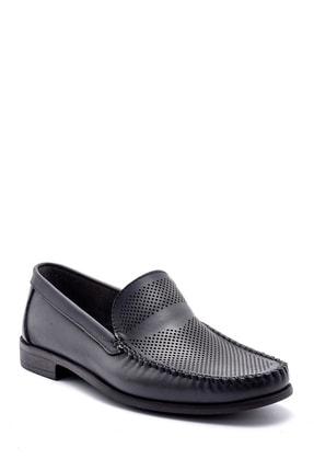 Derimod Erkek Gri Deri Loafer 1