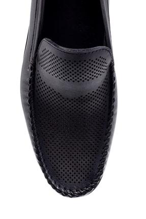 Derimod Erkek Gri Deri Loafer 3