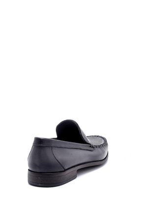 Derimod Erkek Gri Deri Loafer 4