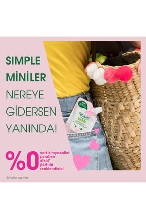 Simple Kind To Skin Mini Nemlendirici Yüz Temizleme Jeli 50 Ml 3