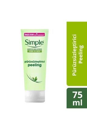 Simple Kind To Skin Hassas Ciltlere Uygun Pürüzsüzleştirici Pirinçli Peeling 75 Ml 0