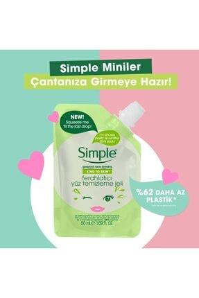 Simple Kind To Skin Mini Ferahlatıcı Yüz Temizleme Jeli 50 Ml 2