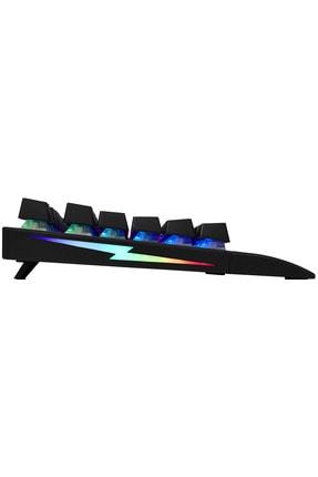 Rampage Rmk-gx9 Pulsar Siyah Usb Rgb Aydınlatmalı Q Red Switch Gaming Oyuncu Mekanik Klavye 4
