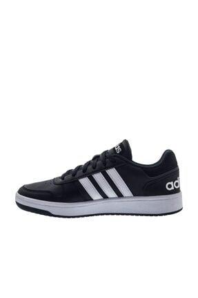 adidas Erkek Siyah Hoops 2.0 Spor Ayakkabı b44699 3