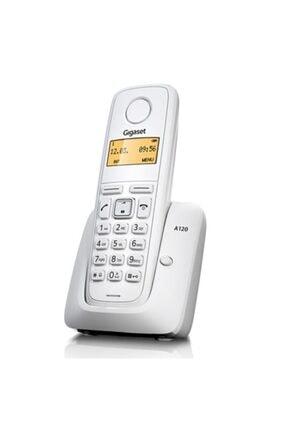 Gigaset A120 Beyaz Telsiz Dect Telefon Işıklı Ekran 0