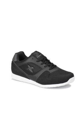 Kinetix Erkek Siyah Günlük Spor Ayakkabı 0