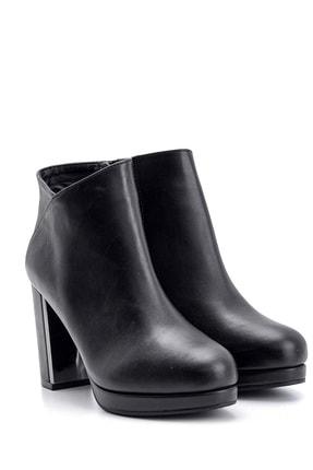 Derimod Kadın Siyah  Topuklu Bot 3