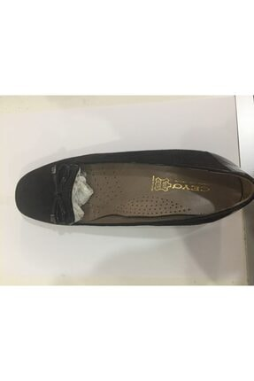Ceyo 249-05 Siyah Nubuk Bayan Anatomik Ayakkabı 0