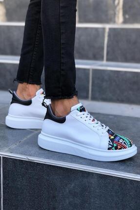 Erkek Beyaz Spor Ayakkabı Chm201 43960-CHM-201-BYZ-01