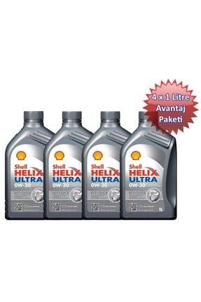 Shell Helix Ultra Ect C2/c3 0w30 4 Litre Avantaj Paketi 0