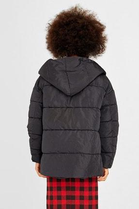 Stradivarius Kadın Siyah Oversize Ceket 05721406 1