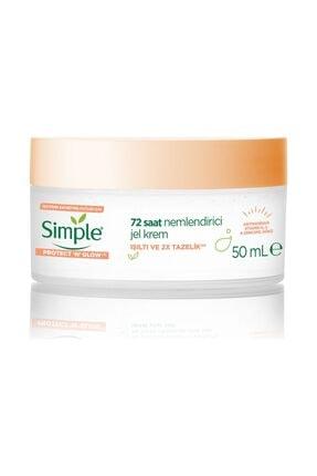 Simple Protect & Glow 72 Saat Nemlendirici Jel Krem 50 ml 0