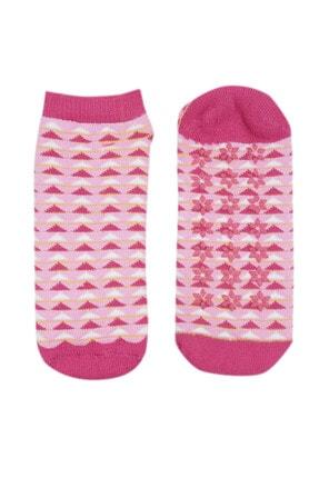 NZR GROUP Kadın Termal  Poffy Kaydırmaz Tabanlı Çorap 0