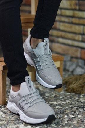Riccon Erkek Gri Buz  Sneaker 0012072 1