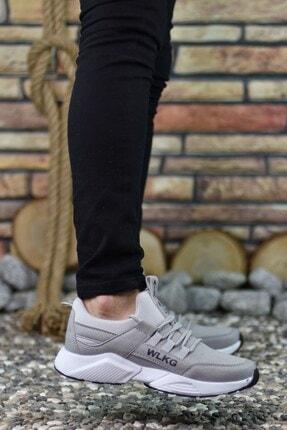 Riccon Erkek Gri Buz  Sneaker 0012072 2