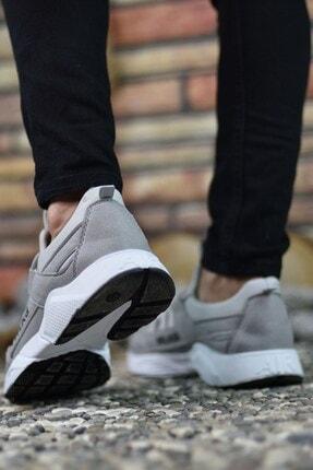 Riccon Erkek Gri Buz  Sneaker 0012072 4