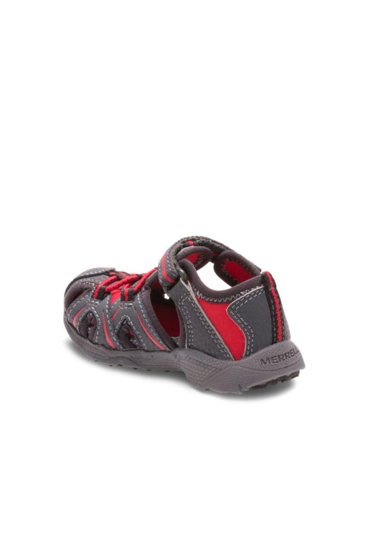 Merrell Çocuk Gri Kırmızı  Sandalet MT55688