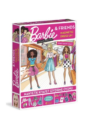 Diytoy Barbie Dress Up Fashionistas 62 Parça 0
