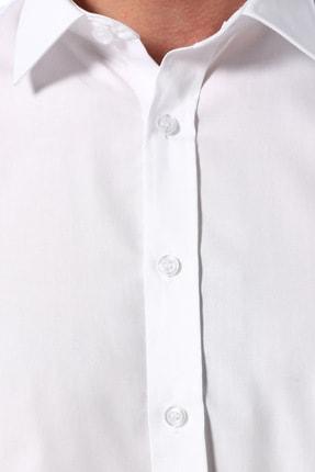 Network Erkek Beyaz Non Iron Beyaz Gömlek 1075271 3