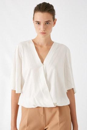 Koton Kadın Altın Çizgili Bluz 1KAK68732CW 2