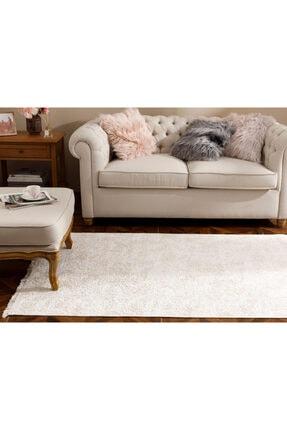 English Home Bej Şal Desen Polyester Halı 120x180 cm 0