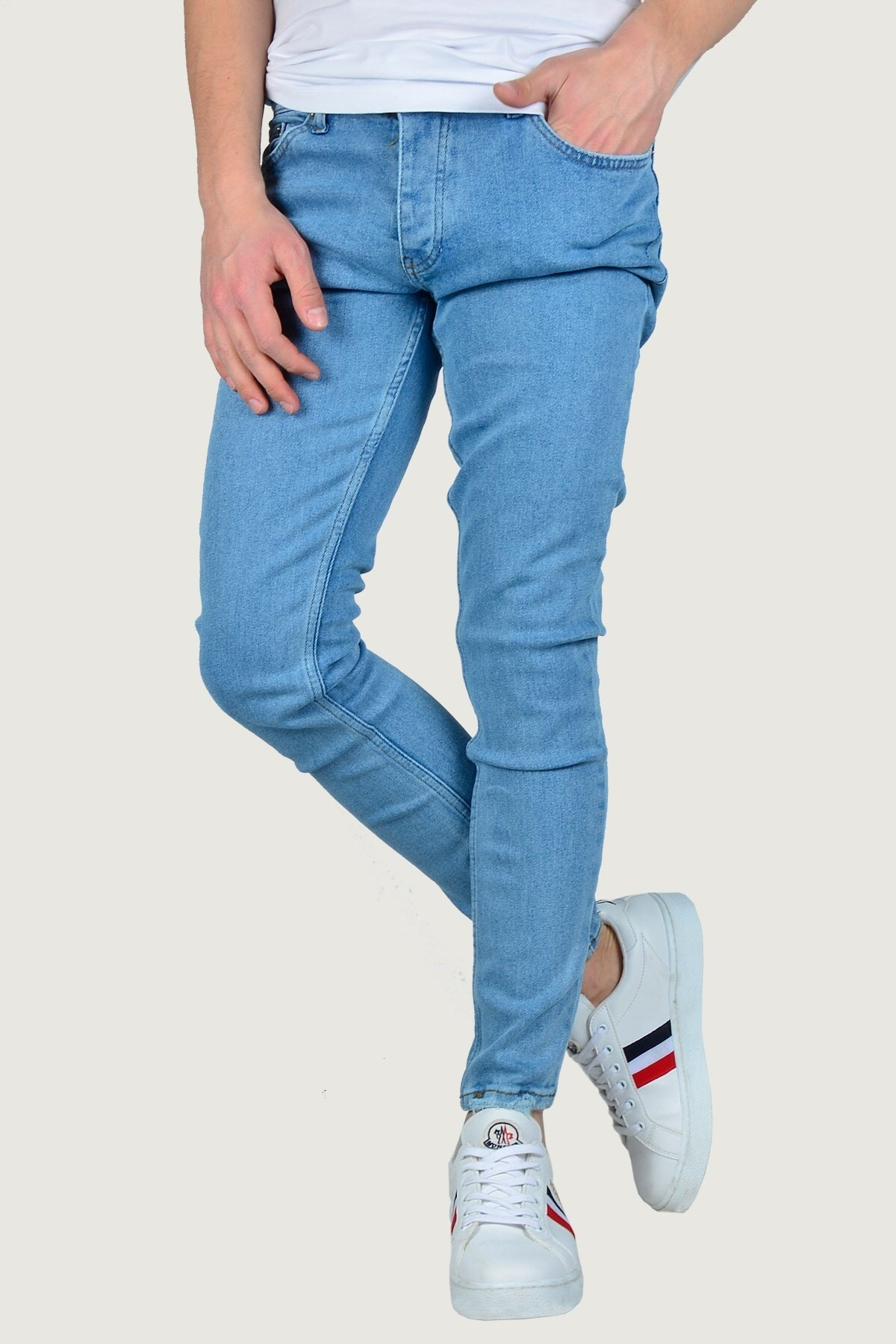 Terapi Men Erkek Kot Pantolon 9K-2100320-011 Buz Mavisi 0