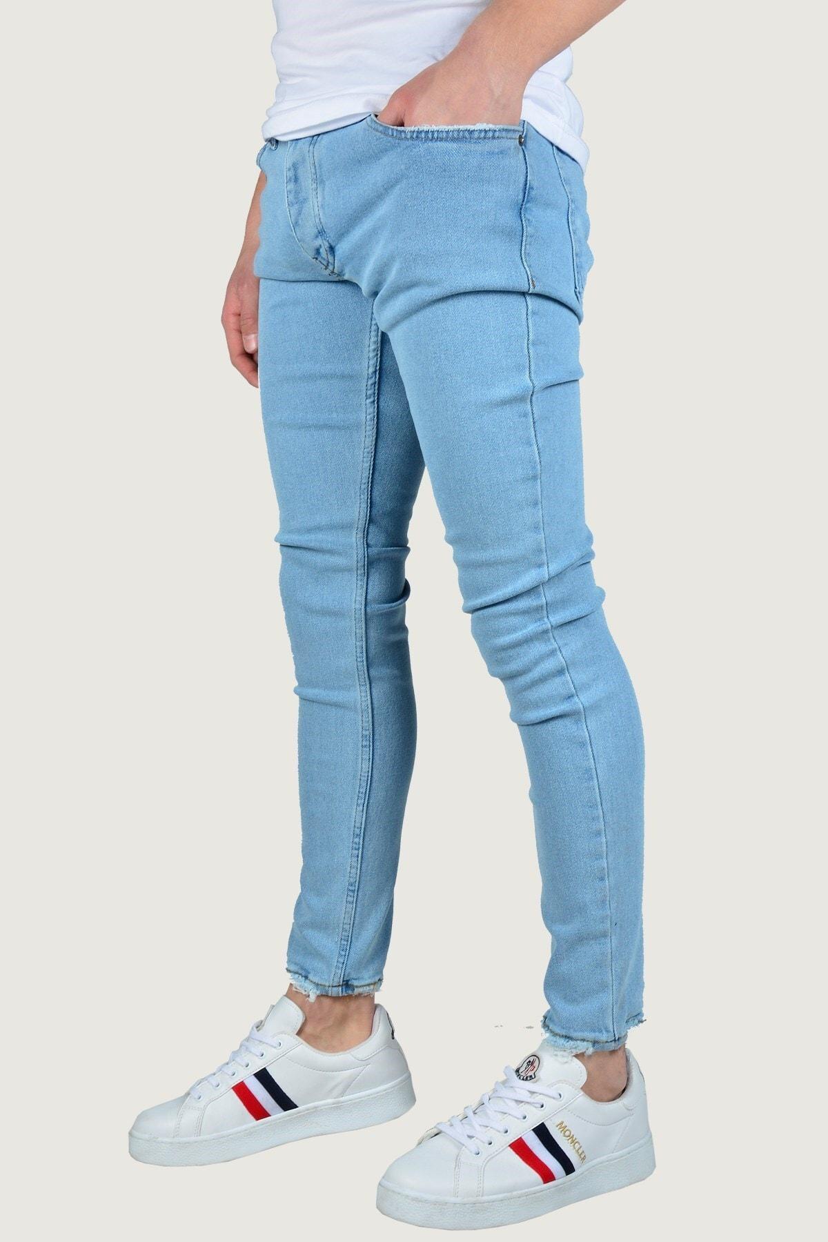 Terapi Men Erkek Kot Pantolon 8K-2100306-004-1 Buz Mavisi 1
