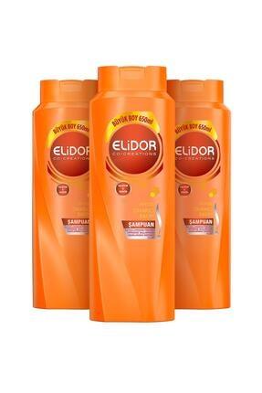 Elidor Anında Onarıcı Bakım Saç Bakım Şampuanı 650 Ml X3 2