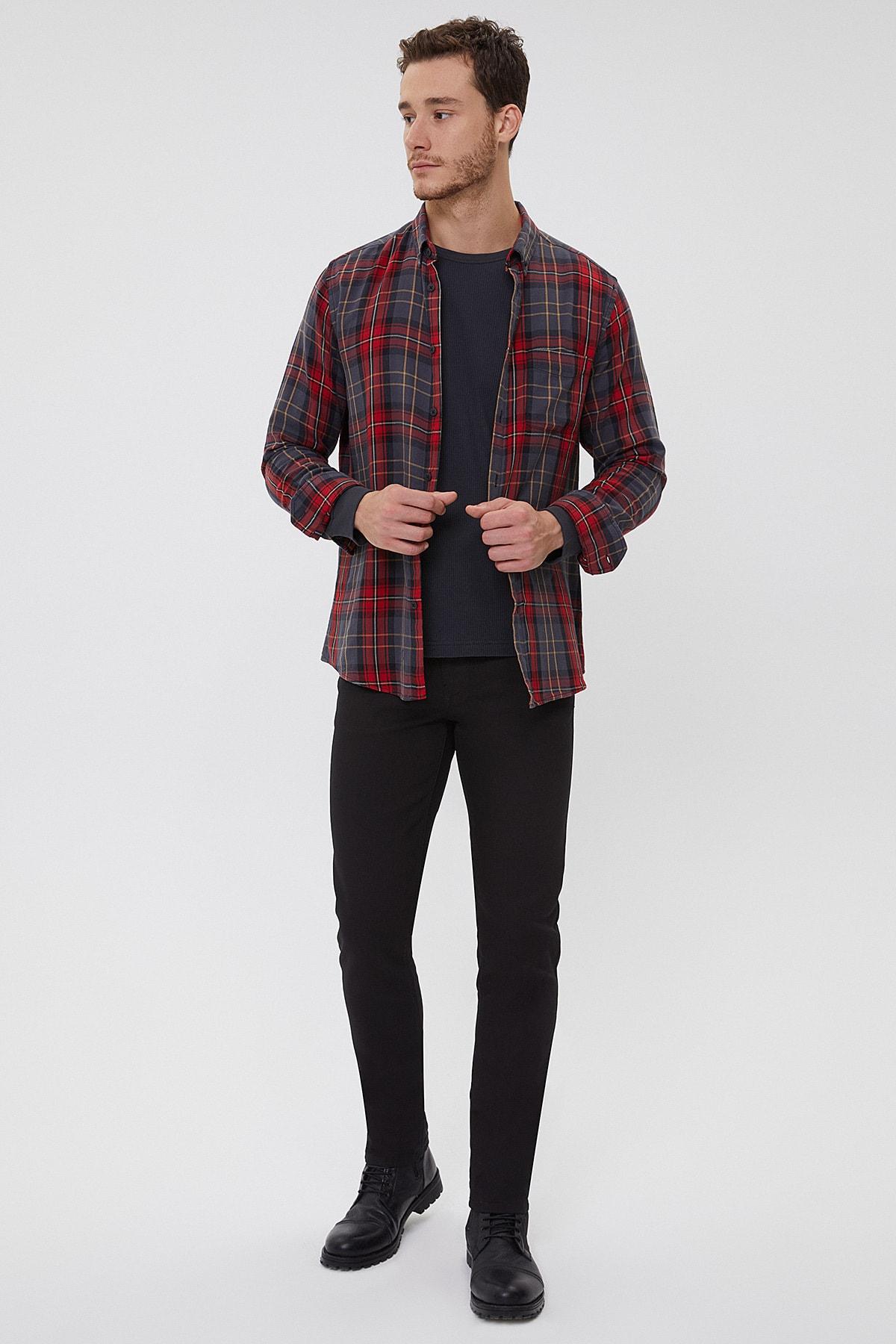 Slim Fit Pamuklu Jagger Jeans Erkek Kot Pantolon 211 Lcm 121032 Dn0199