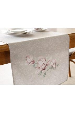 English Home Pembe Yeşil Magnolia Dikdörtgen Runner 40x150 cm 2