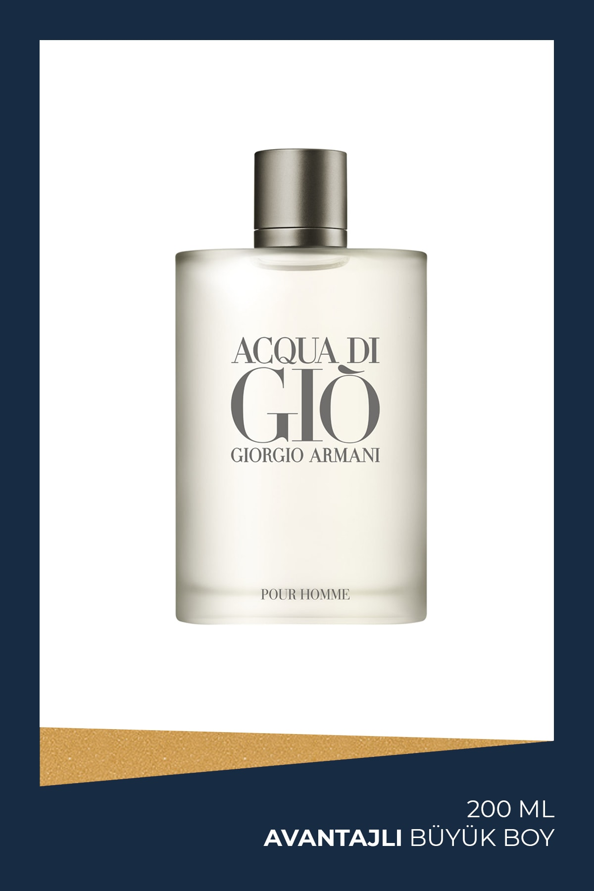 Acqua Di Gio Edt 200 ml Erkek Parfüm 3360372078500