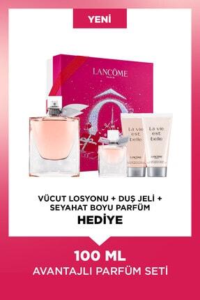 Lancome La Vie Est Belle Edp 100 ml Kadın Parfüm Seti  3614273257442 0