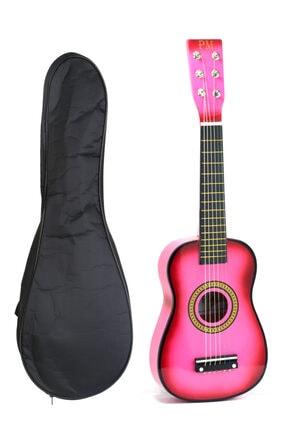 PM Pembe Çocuk Gitar 3-4 Yaş Için Kılıf Ve Pena Hediyeli 0