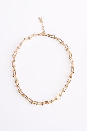Marjin Kadın Altın Blanca Model Zincirli Kolye 1
