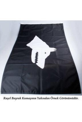 Asilmeydan Göğe Bakan Gazi Mustafa Kemal Atatürk - Ay Yıldız Türk Bayrağı Poster - Bayrak 100x150 Cm 4