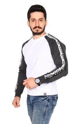 Bessa Sport Siyah Sweatshirt 2 Iplik Reglan Kol Modeli 1