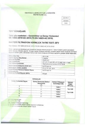 Merand Global 3 Katlı Meltblown-spunbond Cerrahi Maske - 1 Kutu ( Kutu Içi 50 Adet ) - Beyaz 4