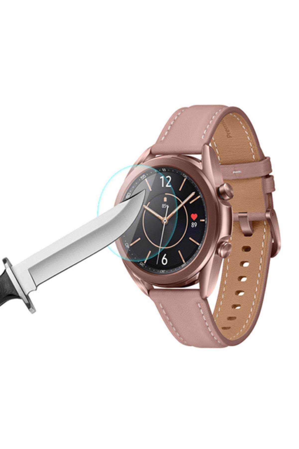 Ally Mobile Galaxy Watch 3 41mm Kırılmaz Cam Ekran Koruyucu