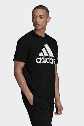 adidas Erkek Siyah Günlük Giyim T-shirt Mh Bos Tee Gc7346 3