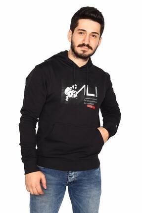 Bessa Sport Kapüşonlu Kanguru Cepli Sweatshirt Muhammed Ali Modeli 2