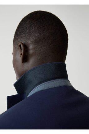 Mango Erkek Prusya Mavisi Regular Kesimli Mikro Dokuma Takım Blazer Ceket 67000515 4