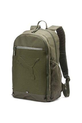 Puma Unisex Haki Buzz Backpack Sırt Çantası 07385136 47x34x17cm 0