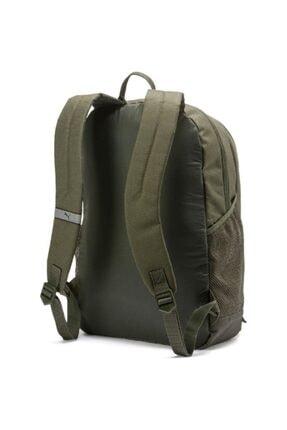 Puma Unisex Haki Buzz Backpack Sırt Çantası 07385136 47x34x17cm 2